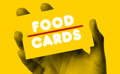 Food Shopping Cards